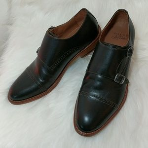 Warfield & Grand leather Monk Strap shoes